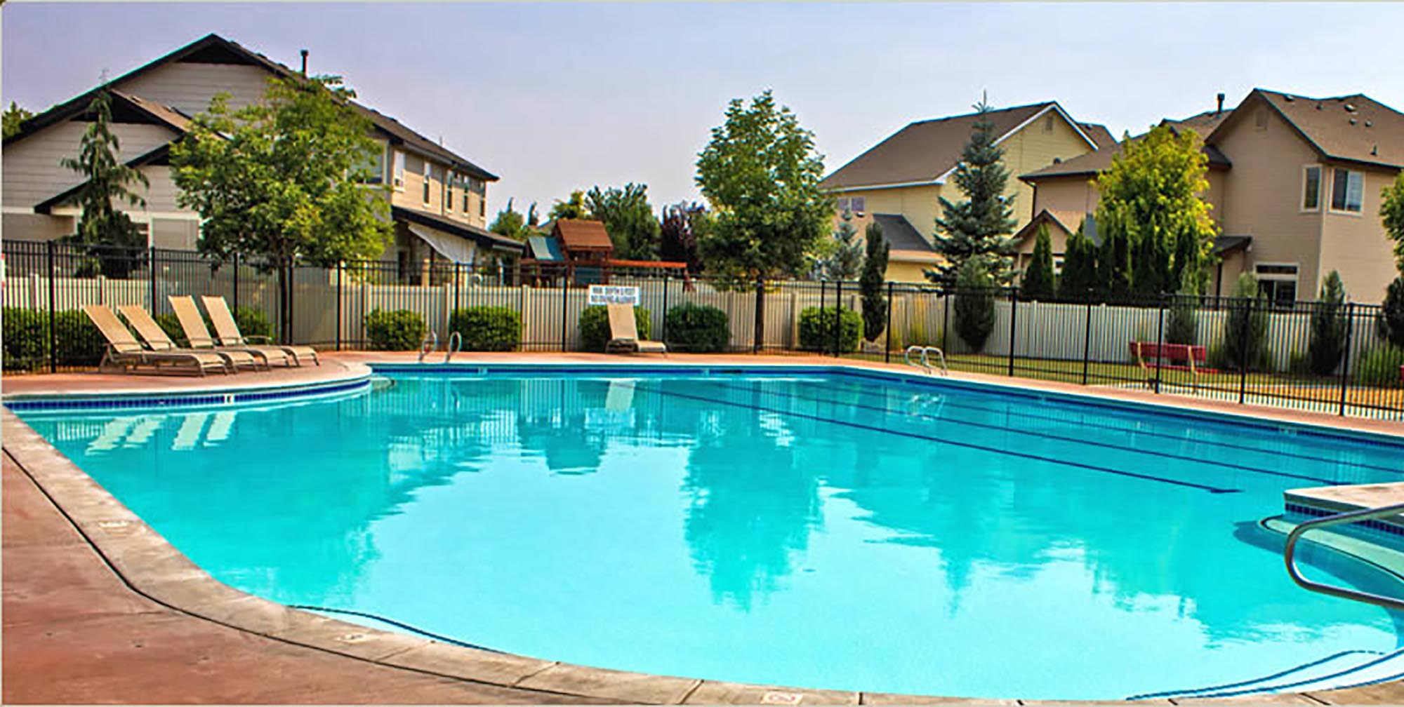 Creek in south west boise best free home design idea for Pool design boise